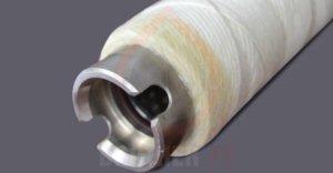 resin wound filter cartridge