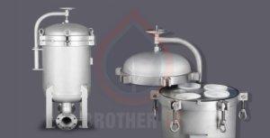 multi-bag filter housings