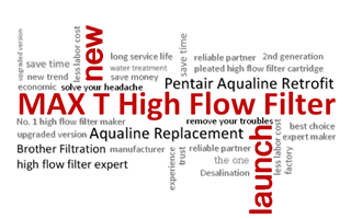 Max T high flow water filter