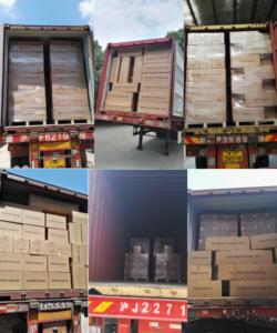 shipment to world