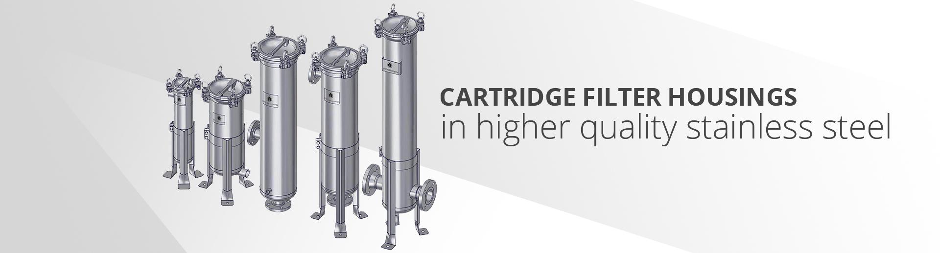 Stainless Steel Cartridge Filter Housings