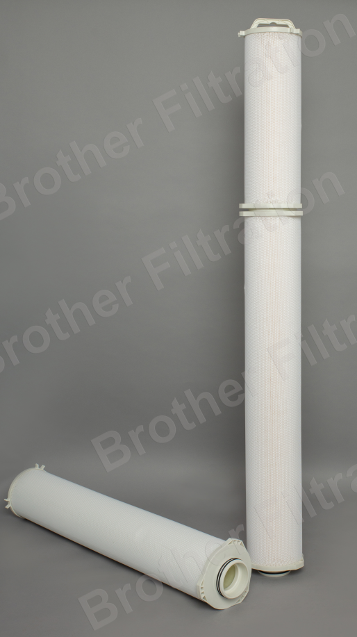 Why client flush the high flow cartridge filter?